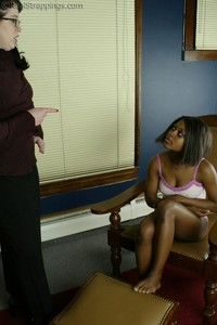 Marissa Spanked By Betty - image1
