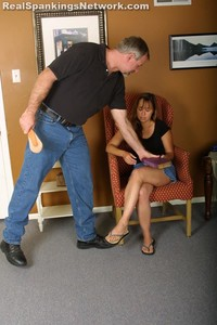 Cindy's Talking Back Gets Her Spanked - image5