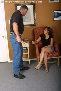 Cindy's Talking Back Gets Her Spanked - image6