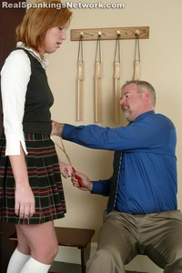 Brooke's OTK Caning At School - image5