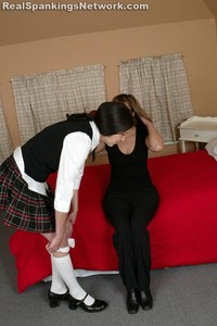 Ms. Baker Takes Brandi Over Her Knee - image3