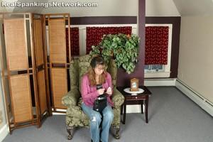 Ms. Baker Spanks Brandi - image1