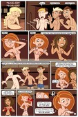 Kim Possible - Spin, Sip & Strip from Cartoongirls